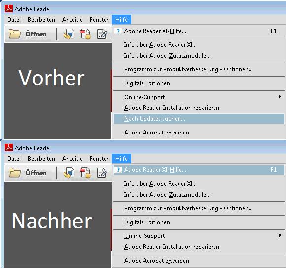 Adobe reader update deaktivieren registry  💄 How to disable